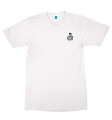 Shabba T-shirt (white) by GABE